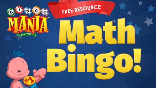 Math Bingo Free Cards - Learn How To Play & Print for Free
