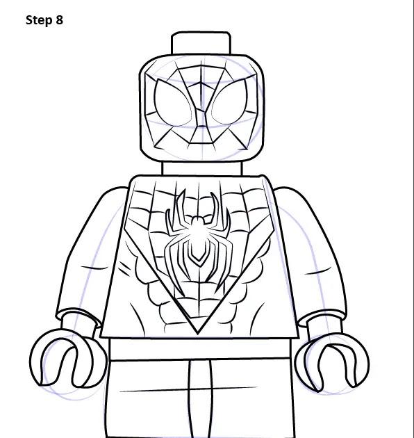 My Draw - drawinged.blogspot.com: Spider Man Miles Morales ...