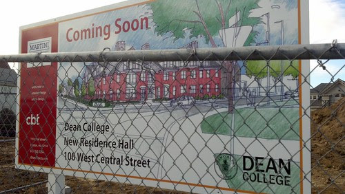 Coming soon: new residence dorm for Dean College