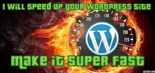 I will speed up your WORDPRESS site in 12 hours or less