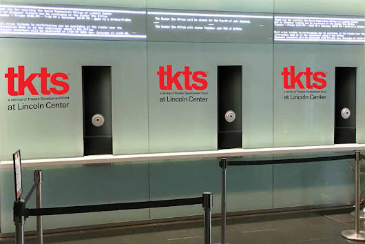 A complete guide to the new pop-up TKTS booth at Lincoln Center