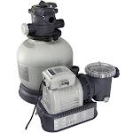 Intex 28647EG Krystal Clear 2800 GPH Above Ground Swimming Pool Sand Filter Pump by VM Express