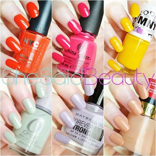 She Said Beauty Fiona Houghton Nails