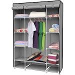Sunbeam Storage Closet with Shelving - Grey