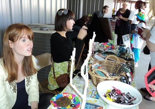 Maker's Fair: Brittany Baucum, Aubre Bauer by trudeau