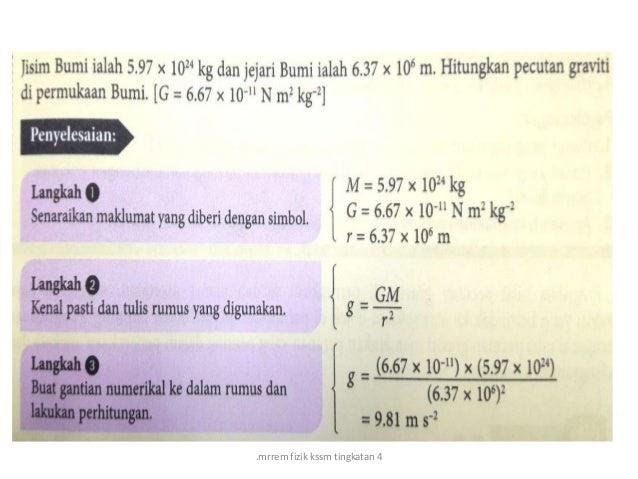 Jawapan Buku Teks Fizik Tingkatan 4 | Anirasota