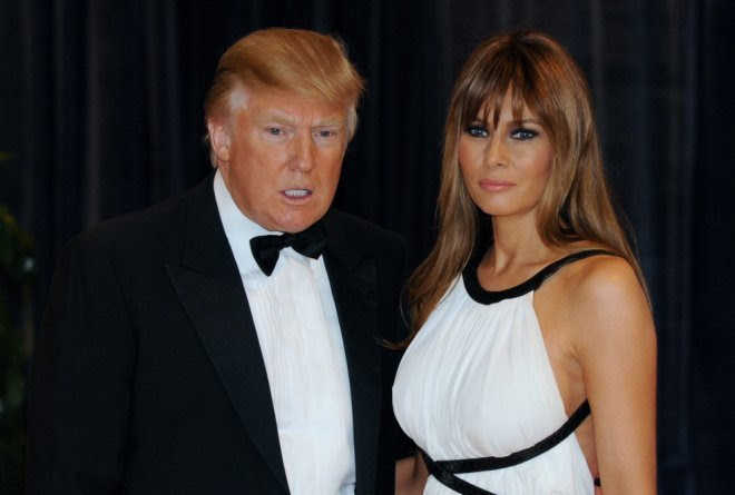Donald y Melania Trump./ Efeestilo