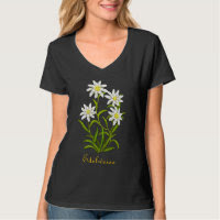 Swiss Edelweiss Alpine Flowers Shirt