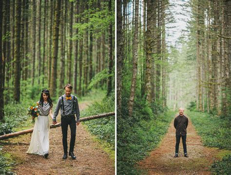 A Romantic Elopement in the Woods: Laura   Nick