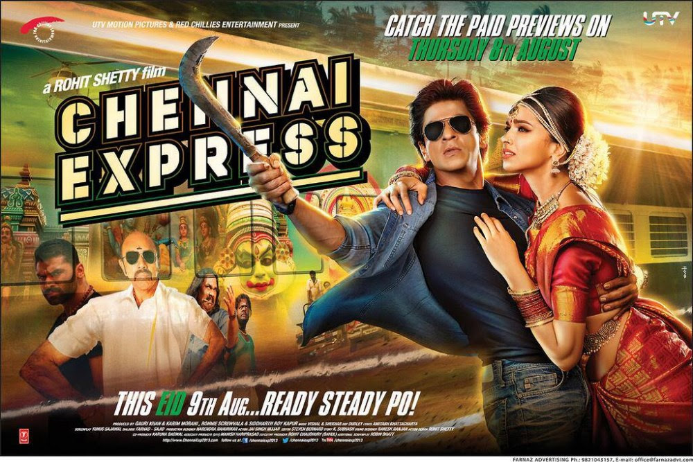 Image result for chennai express poster