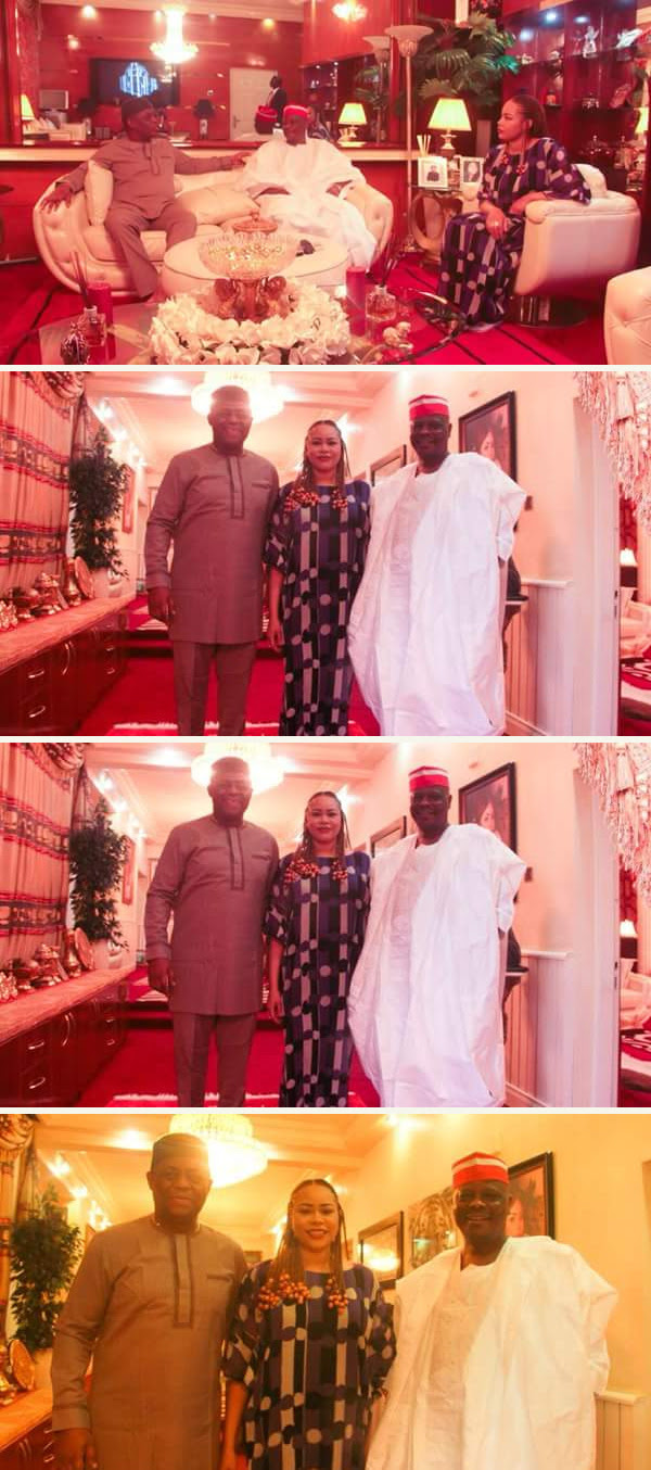 Femi Fani-Kayode Receives Senator Kwankwaso At His Abuja Home (Photos)