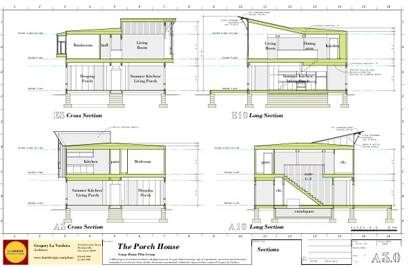 Modern house plans by gregory la vardera architect porch for Modern house details