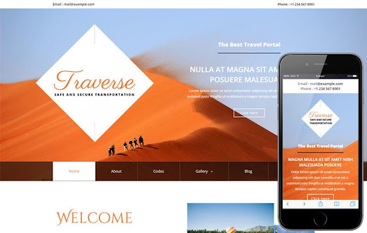 Traverse a Travel Category Flat Bootstrap responsive Web Template