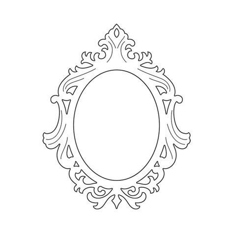 sizzix thinlits die frame ornate oval cnc