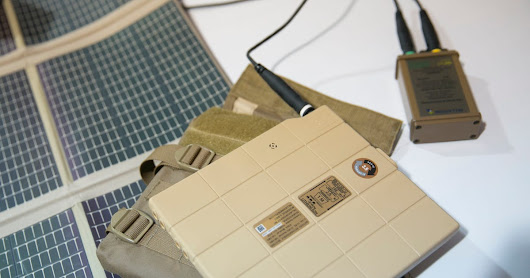 Firm Combines Battery and Armor Plate For Troops