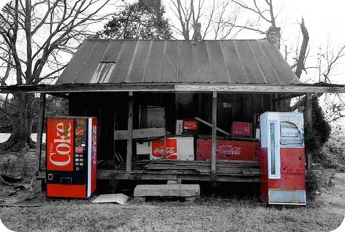 Museu da Coca-Cola abandonado
