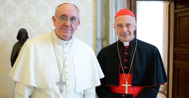 Papa Francesco e Bagnasco