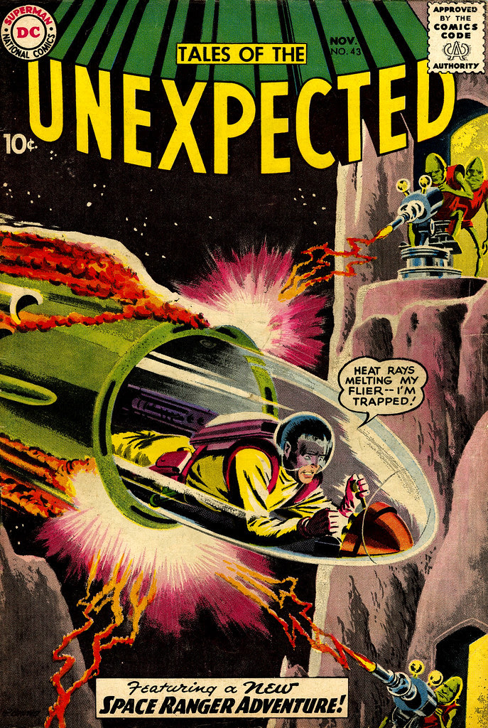 Tales of the Unexpected #43 (DC, 1959) Bob Brown cover