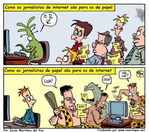 jornalistas e internet