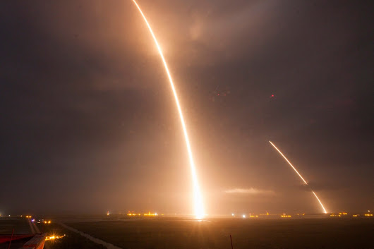 SpaceX Makes History: Watch First-Ever Vertical Landing