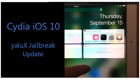 Cydia iOS 10 / 10.0.1 Jailbreak update by Luca Todesco