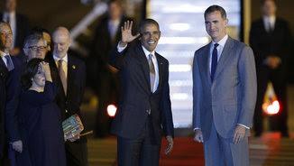 Obama i Felip VI