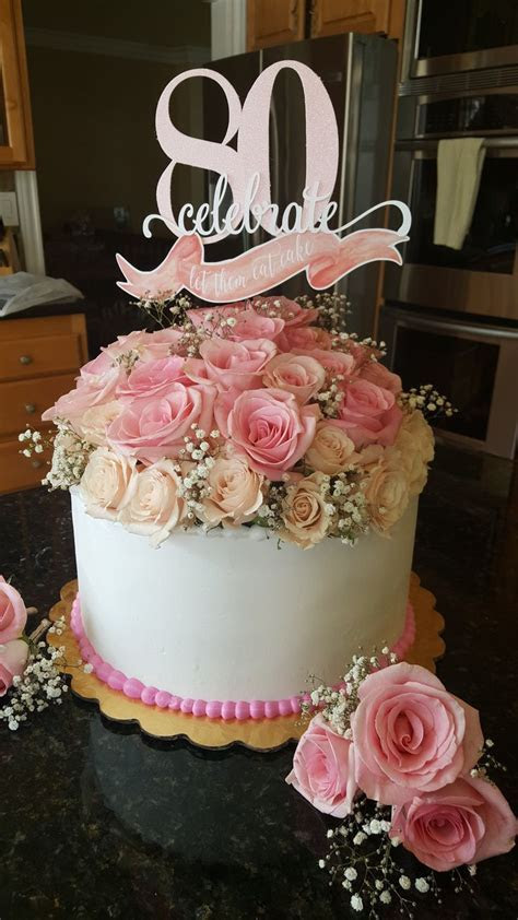 Best 25  80th birthday cakes ideas on Pinterest