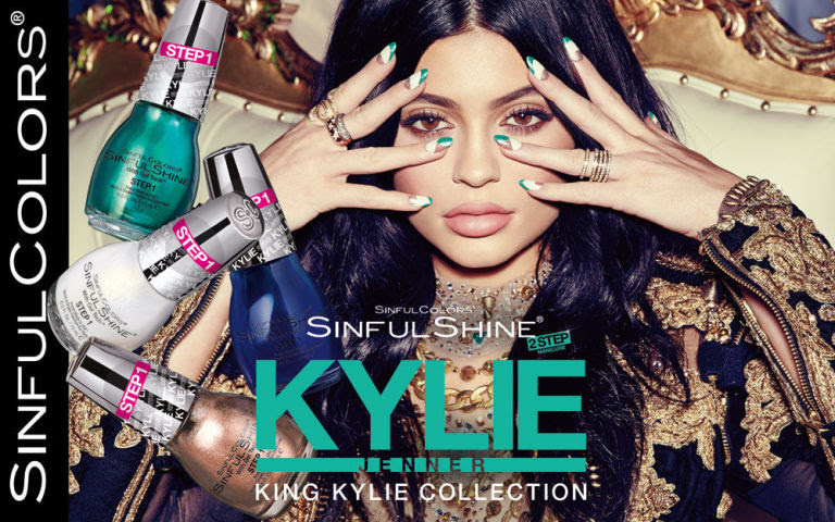 KYLIE JENNER IS NOW MAKING NAIL POLISH