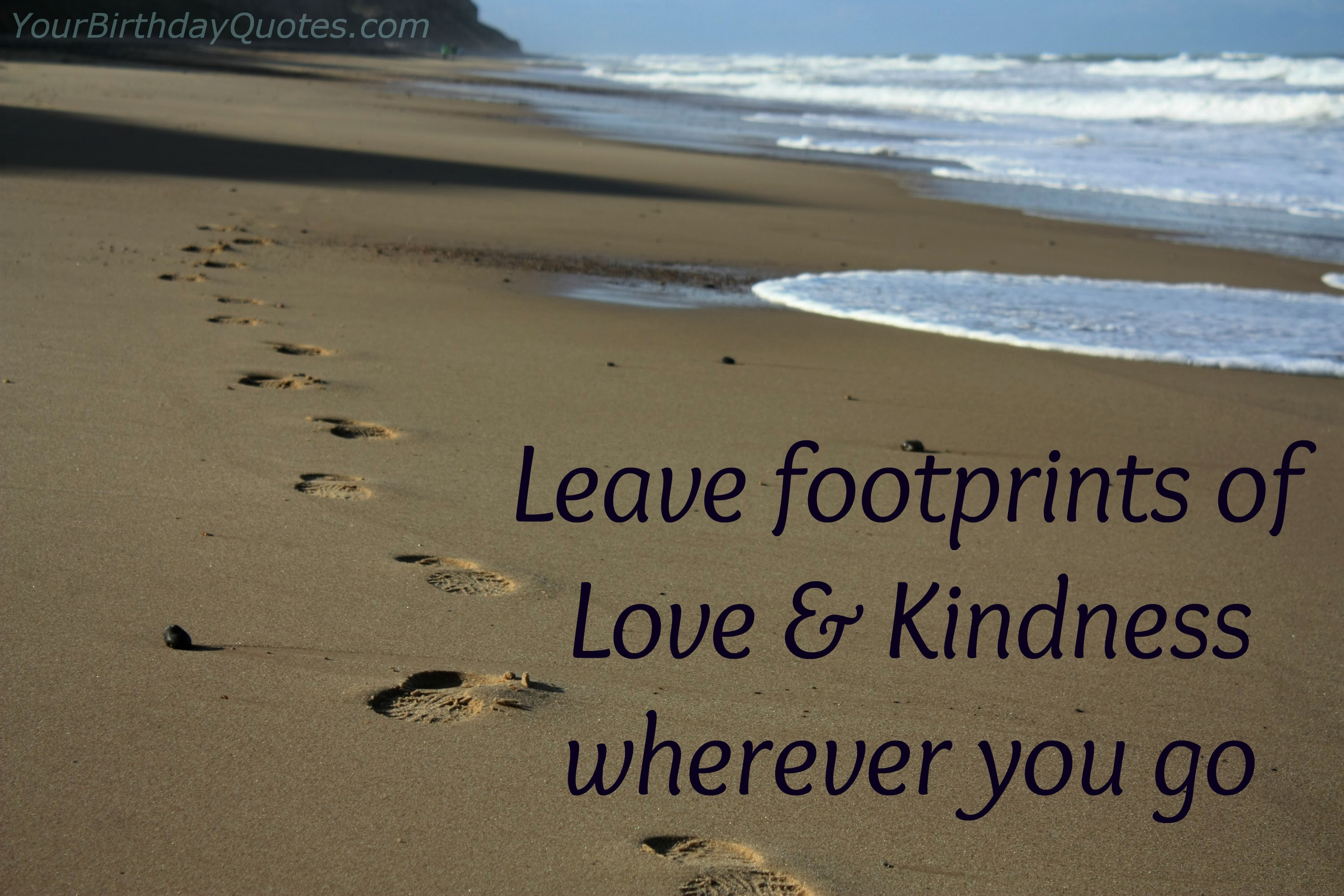 Quotes About Footprints Of Life 25 Quotes