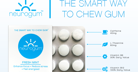 CLICK HERE to support NeuroGum: The Focus-Boosting Energy Gum