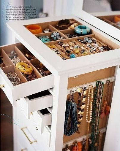 Jewelry Storage Ideas | Organizing Ideas | Helena A Personal Organizer