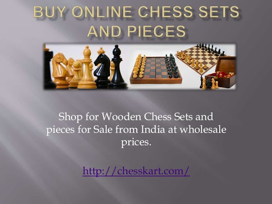 Chess sets and pieces