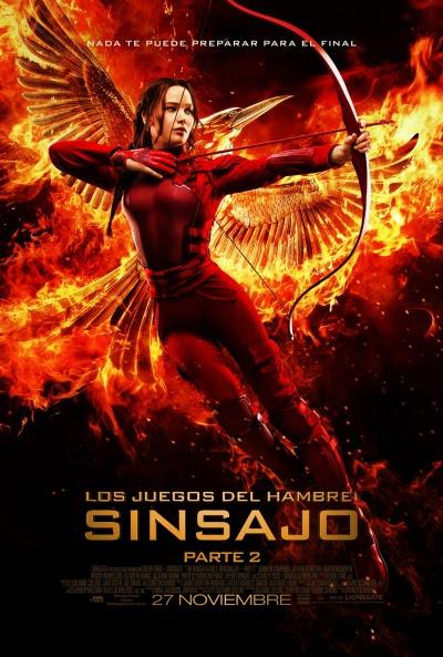 Cartel de Los juegos del hambre: Sinsajo. Parte 2 (The Hunger Games: Mockingjay Part 2)