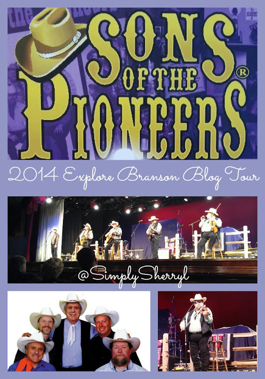 Sons of the Pioneers in Branson, MO #ExploreBranson - Simply Sherryl