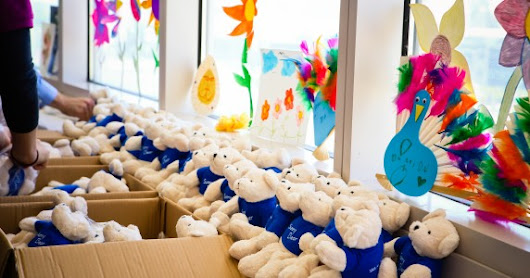 SMA America helps local kids smile, donates Sunny Bears to UC Davis Children's Hospital  | Sunny. The SMA Corporate Blog