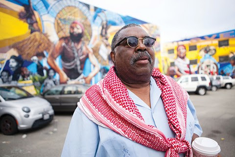 Marvin X Jackmon was a crucial proponent of the Black Arts Movement and Business District. - BERT JOHNSON