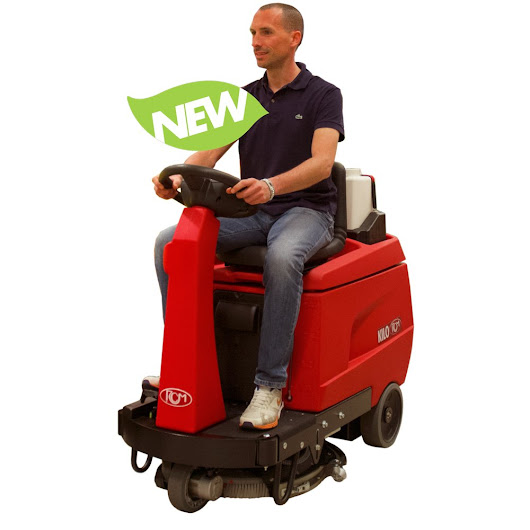 Clean Large Surface Area Easily With the Ride-On Scrubbers