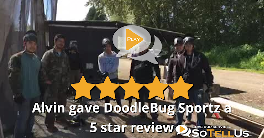 Alvin M gave DoodleBug Sportz a 5 star review