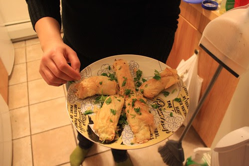 Herbed Feta Pastries.