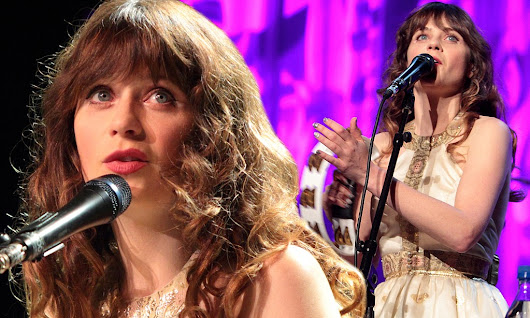 Not so snap happy: Zooey Deschanel bans fans from using camera phones at her music gigs