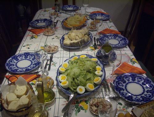 Natal #25 - A mesa de Natal