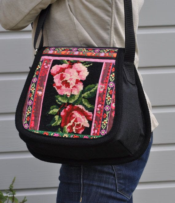 Rose bag por dutchsisters en Etsy, $79.00