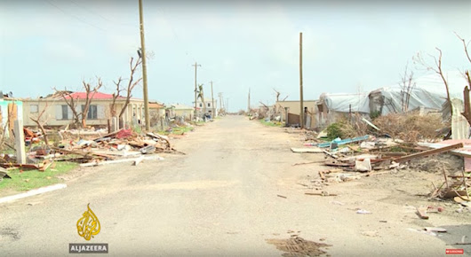 Not one single human left on the island of Barbuda after Hurricane Irma