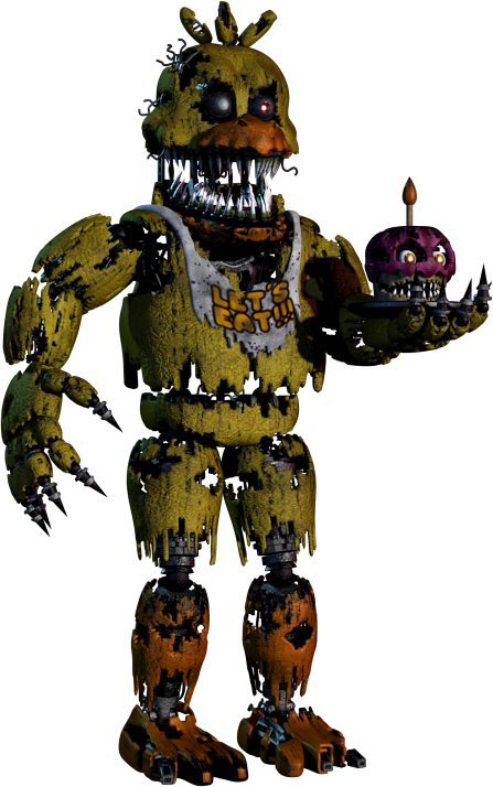 Image: Nightmare Chica | Five Nights at Freddy's Wiki | Fandom powered by ...