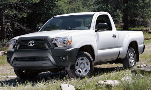 Toyota to drop regular-cab Tacoma as small pickups take another hit - Autoblog