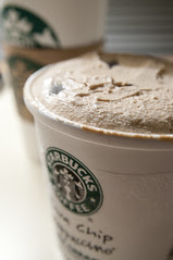Java Chip Frappuccinos Ice Cream, Starbucks, San Francisco