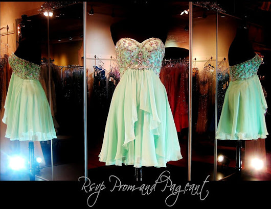100HS0279250295 MINT HOMECOMING DRESS