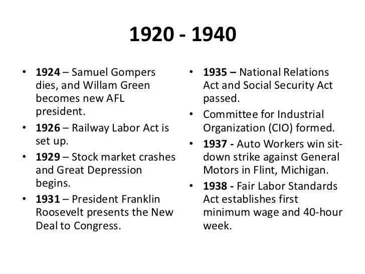 US Labor Movement