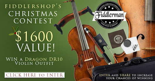 Fiddlershop Dragon DR10 Violin Outfit Christmas Contest