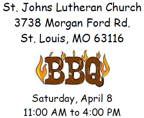 Usher's BBQ – Saturday, April 8, 2017